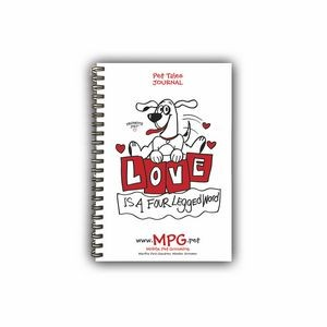 Promote.Pet� Pet Tales� Wire Bound Poly Journal, Small
