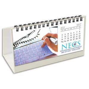 Hang 12 Custom Flip Calendar w/White Organizer Base