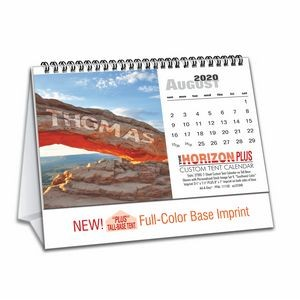"""Horizon Plus"" Tall-Base Tent Calendar"