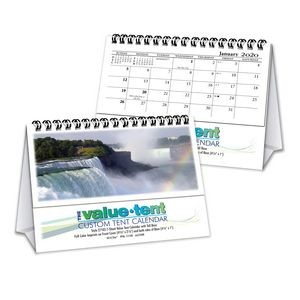 """Value•Tent"" Small Tent Calendar"